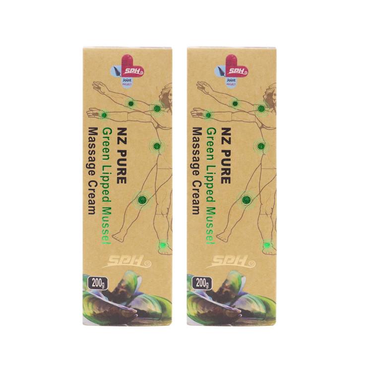 100% 뉴질랜드 초록입홍합 마사지 파스 크림