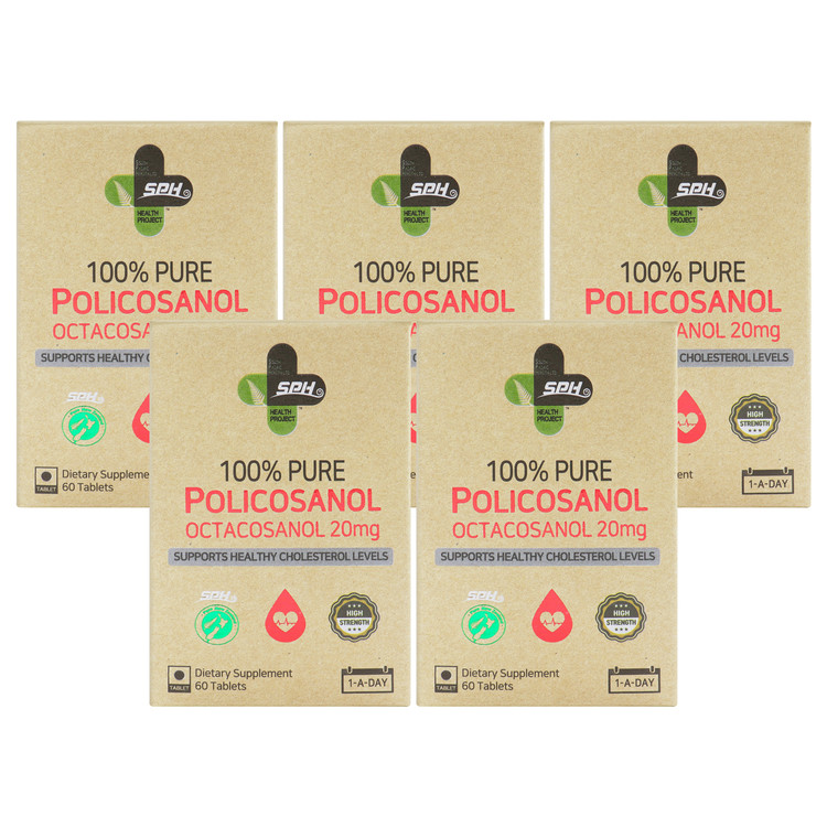 100% 순수 폴리코사놀